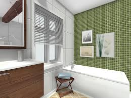 bathroom ideas. RoomSketcher-Bathroom-Ideas-Accent-Wall Bathroom Ideas