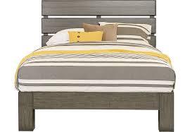 gray platform bed king. Unique King In Gray Platform Bed King K