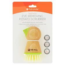 "Full Circle <b>Tater Mate Potato</b> Brush with <b>Eye Remover</b> 1.97"" x 1.77"" x ..."