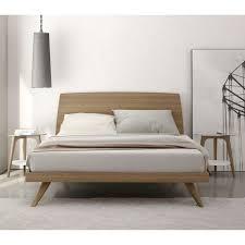 modern vintage bedroom furniture. bedroom modern mid century natural color walnut king size platform bed amazing frame ideas for the home pinterest vintage furniture e