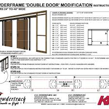 Sliding Door sliding door sizes standard photos : Standard Double Pocket Door Sizes | http://retrocomputinggeek.com ...