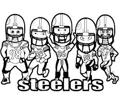 football printables coloring pages printable players helmets book and free nfl pag