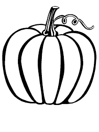 Pumpkin Color Sheet Fall Coloring Pages For Kindergarten Fall