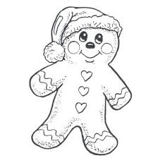 Christmas Gingerbread Man Coloring Pages Stilmodaco