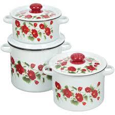 <b>Набор эмалированной посуды Сибирские</b> товары Рамо 16 ...