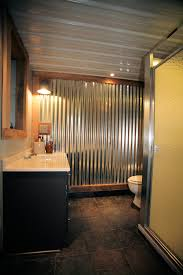 Corrugated Metal Interior Design Boys Hot Rod Bedroom Corrugated Metal Wall Treatment How To Age