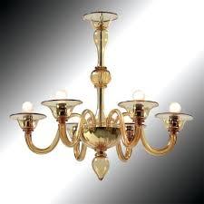 amber glass chandelier 6 lights amber glass chandelier amber art glass chandelier