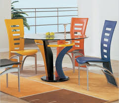 unique dining furniture. colorful unique dining chairs the room furniture