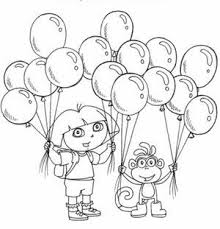 Small Picture 67 best dora images on Pinterest Dora the explorer Coloring