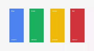 google colors. Interesting Colors Also Google Has Said Following About Their New Colors On Colors R