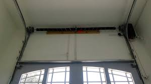 garage door tracksHigh Lift Garage Door Track System Demo  YouTube
