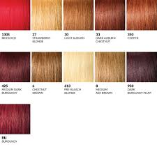 350 Hair Color Chart Outre Color Charts