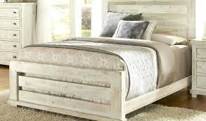 White Rustic Furniture Artisan Post Nightstand Rustic White Antique ...