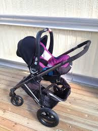 britax smile with baby safe plus shr ii car seat