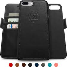 this classy wallet style leather case from dreem is being custom made for iphone 8 plus it is made from premium vegan leather by skilled craftsmen that are