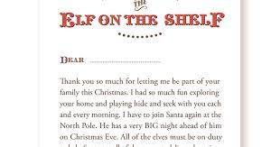 elf letter preview