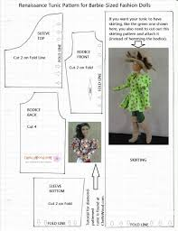 free barbie furniture patterns. harlequin top or musketeer tunic for barbie printable pattern free furniture patterns e