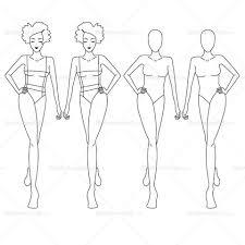Fashion Croquis Templates Templates For Fashion