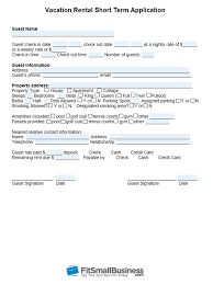 Application Form For Rental Rental Application Form Free Templates