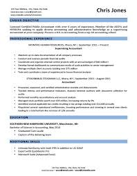 career overview for resumes