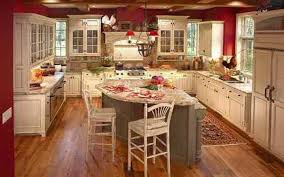 Delighful Kitchen Design Ideas Country Style Modern Concept Red And Inspiration
