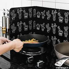 wall oil splash aluminum foil gas stove
