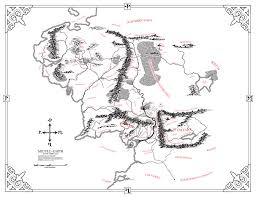 Aged Map Of Middle Earth 5 Steps With Pictures