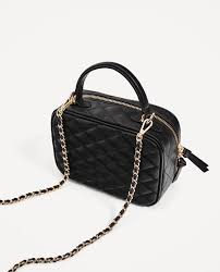 QUILTED CROSSBODY BAG - View all-BAGS-WOMAN-SALE | ZARA United States & Image 5 of QUILTED CROSSBODY BAG from Zara Adamdwight.com