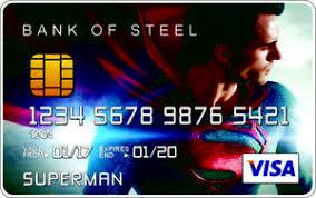 Plastic Superman Ebay Novelty Credit Card