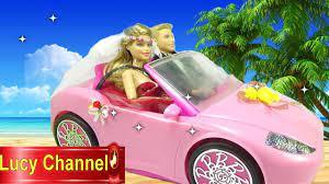 Đồ chơi Lucy Búp bê Barbie & Ken review xe hơi búp bê Toy story - YouTube