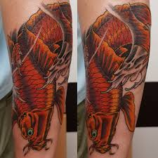 карп мужская тату на предплечье фото татуировок