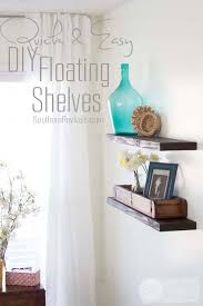 Easy To Install Floating Shelves Quick Easy Budget friendly DIY Floating Shelves 31