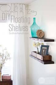 Making Floating Shelves Quick Easy Budget friendly DIY Floating Shelves 44