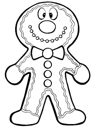 Printable Candy Coloring Pages For Kids Gingerbread House Sheets