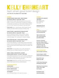 fresh, smart, good looking design unique-resume-samples