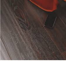 Dolce Richmond Dark Oak Effect Laminate Flooring With B And Q Fence Panels