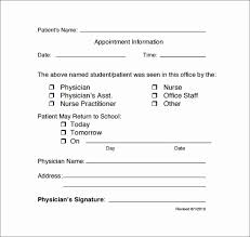 Fillable Doctors Note For Work Fake Urgent Care Doctors Note Fillable Doctors Note Fresh 19