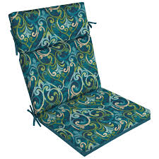 garden treasures 1 piece salito marine high back patio chair cushion