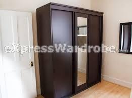 solid wood sliding wardrobe doors ideas