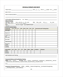 Speech Therapy Progress Chart Therapy Note Templates 6 Free Word Pdf Format Download