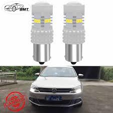Bmt Canbus No Error P21w Led Drl Daytime Running Light For Vw Volkswagen Jetta 6 Mk6 2011 2016 2017 Xenon White 1500lm