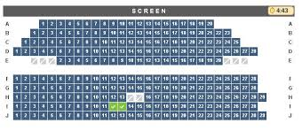 Cineplex Reserving Seats Stinks When Trying To Use Admit One