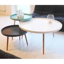 Table Salon Ronde Blanche Achat Table De Salon Trendsetter