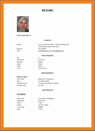12 Resume Examples In Malaysia Best Templates Best Templates