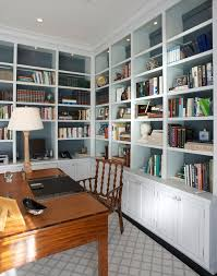 office drapes. Brilliant Office New York Custom Bookcase With Linen Curtains And Drapes Home Office  Traditional White Built In Throughout Office Drapes N