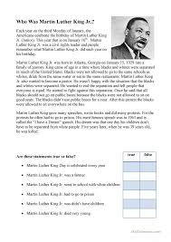 Martin Luther King Worksheets Free Worksheets Library | Download ...