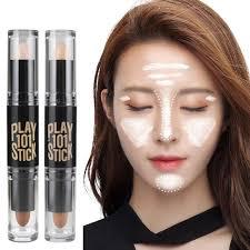 dels about makeup natural cream face eye foundation concealer highlight contour pen stick