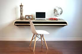desk view in gallery minimal floating desk designer floating desk in white build a floating