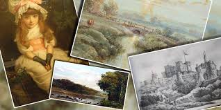 what s my fine antique painting worth