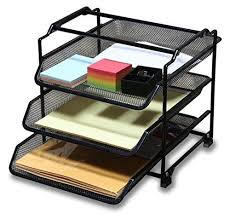office paper holder. unique office letter organizer desk document tray office file holder paper storage mail 3  tier intended